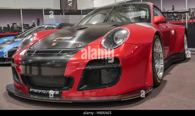 porsche tuning stock photos porsche tuning stock images alamy. Black Bedroom Furniture Sets. Home Design Ideas