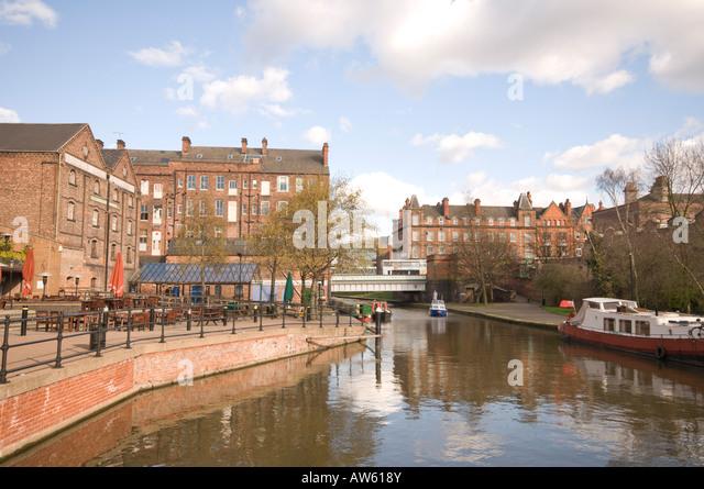 Castle wharf, Nottingham - Stock Image