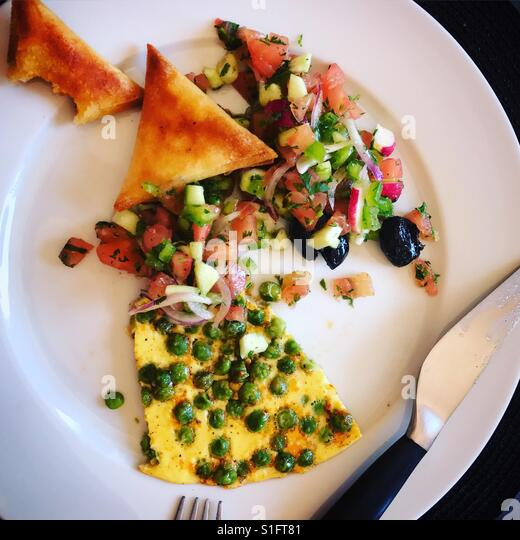 Lunch in Morocco - Stock-Bilder