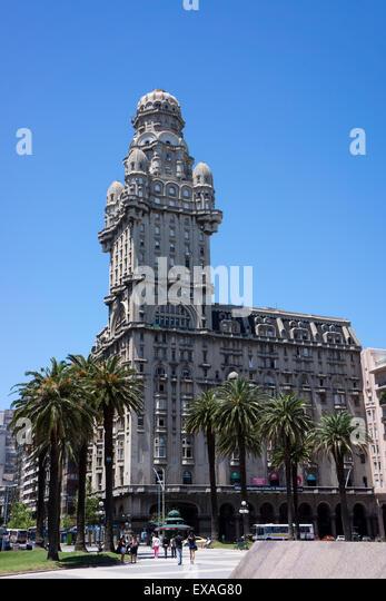 Palacio Salvo, Montevideo, Uruguay, South America - Stock Image