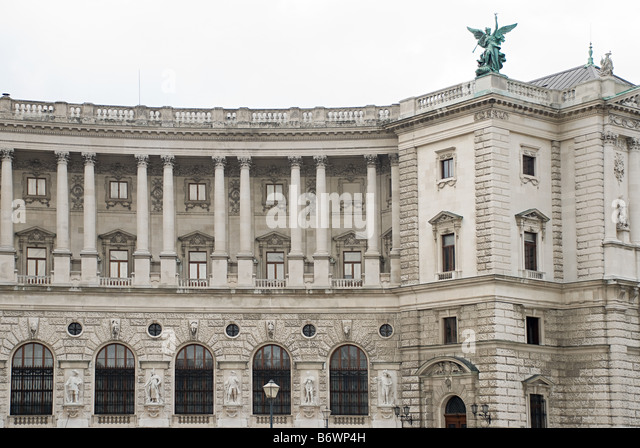Building in vienna - Stock Image