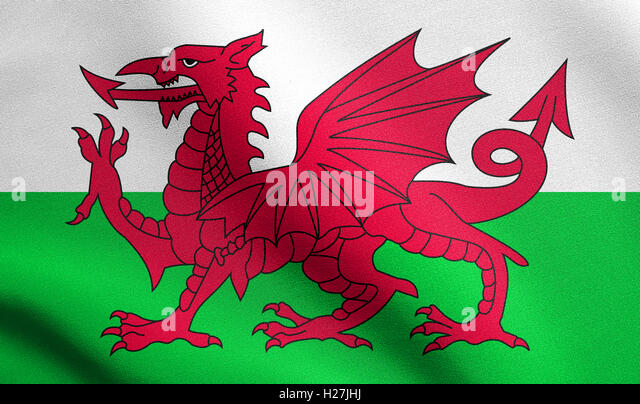 Welsh Dragon Sign Stock Photos & Welsh Dragon Sign Stock ...
