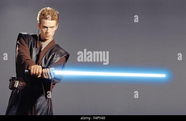 Hayden Christensen / Star Wars-Episode II Attack Of The Clones / 2002 directed By George Lucas, Walt Disney Studios - Stock Image