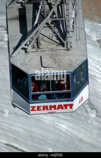 Switzerland Matterhorn Glacier - Stock Image