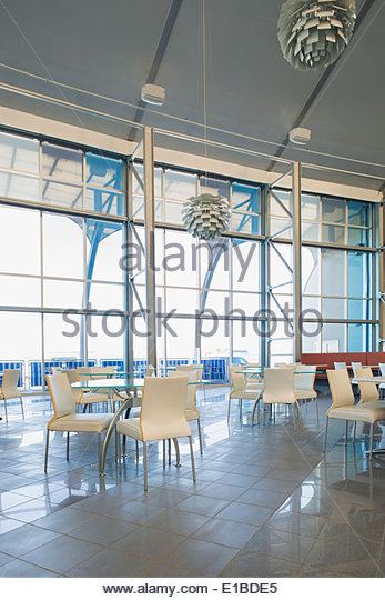 Modern office cafeteria - Stock Image