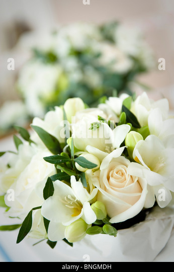 Wedding flowers - Stock Image