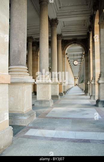 Baroque colonnade - Stock-Bilder