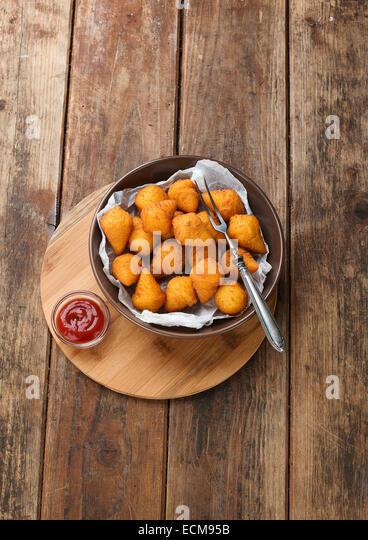 potato croquettes - Stock Image
