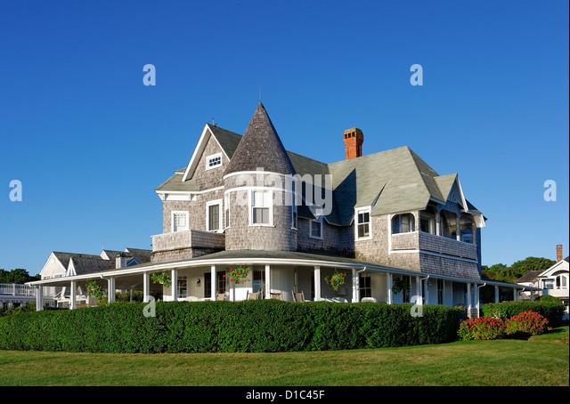 Oak Bluffs, Martha's Vineyard, Massachusetts, USA - Stock Image