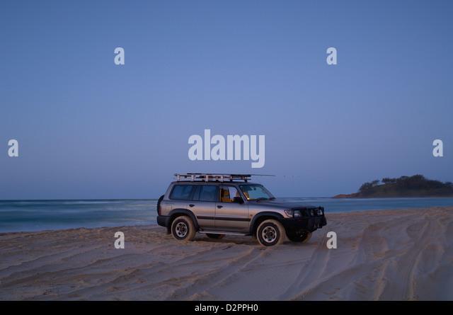 Fishing trip, Fraser Island QLD Australia - Stock Image