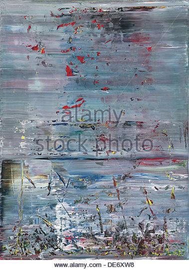Abstraktes Bild, 1990. Artist: Richter, Gerhard (*1932) - Stock Image