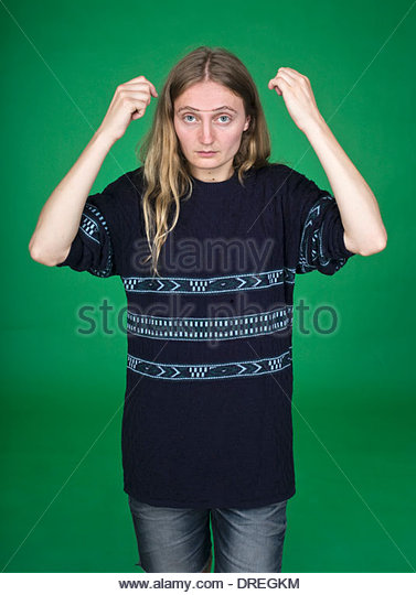 Don't goo please - Stock Image