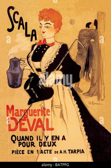 Scal Marguerite Deval - Stock Image