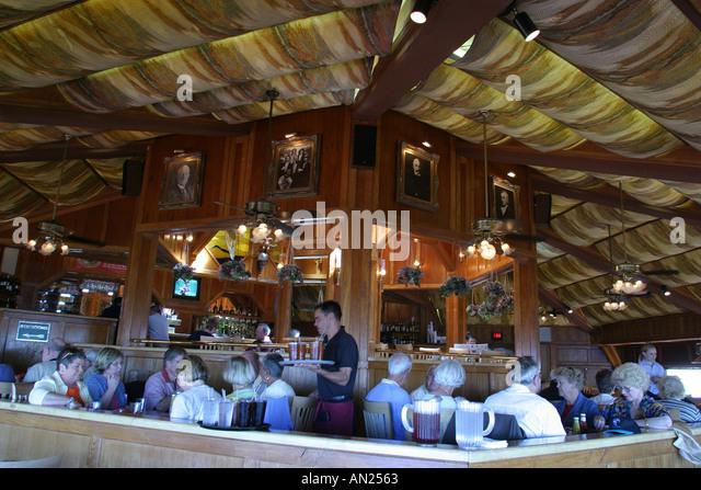 Albuquerque New Mexico Sandia Peak ft. High Finance Restaurant W - Stock Image
