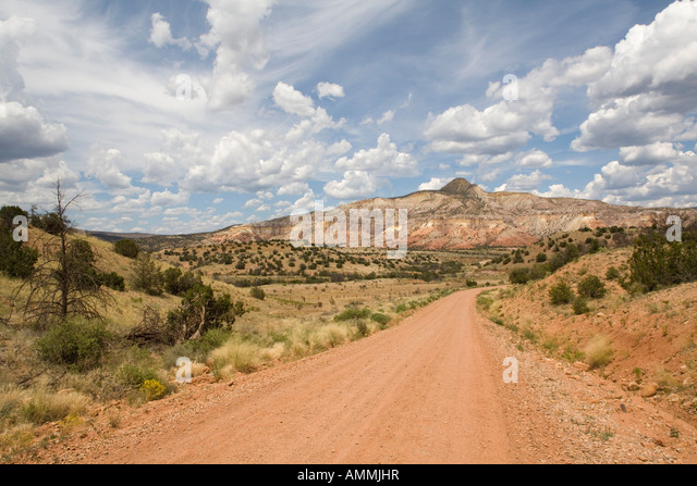 chama river road new mexico - Stock Image