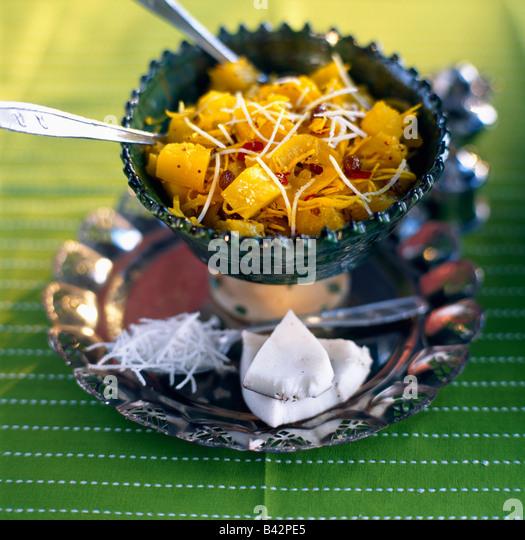 Pineapple curry - Stock-Bilder