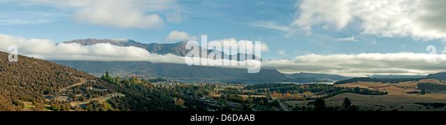 The Long White Cloud, Wanaka, Central Otago, New Zealand - Stock Image