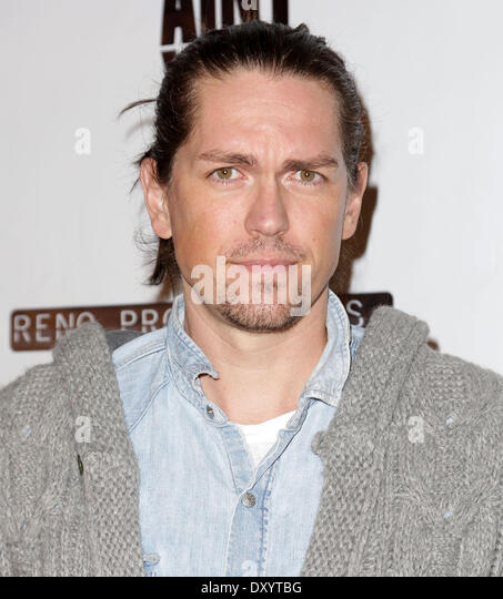 The Los Angeles premiere of 'Certainty' at Laemmle Music Hall - Arrivals Featuring: Steve Howey Where: Los - Stock Image