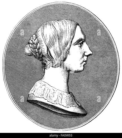 Johanna Kinkel, 1810-1858, a German composer, writer, and revolutionary, - Stock-Bilder