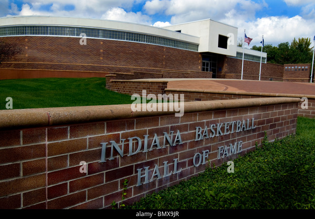 Indiana Basketball Hall of Fame in New Castle, Indiana - Stock Image