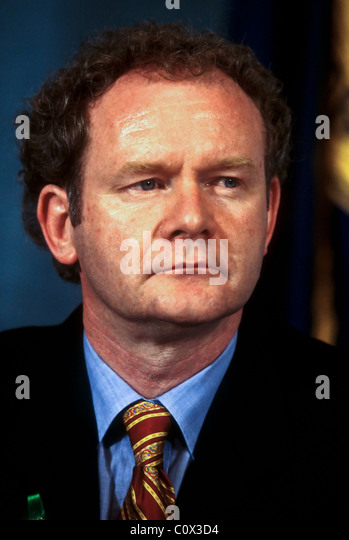 Irish Sinn Fein leader Martin McGuinness in Washington, DC. September 3, 1997 - Stock Image
