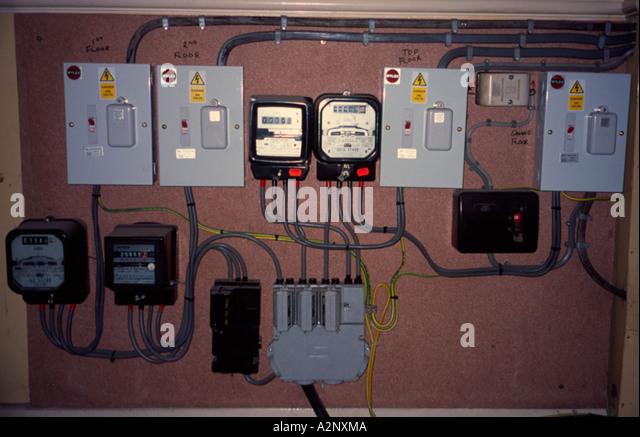 Gas Meter In Kitchen Cupboard
