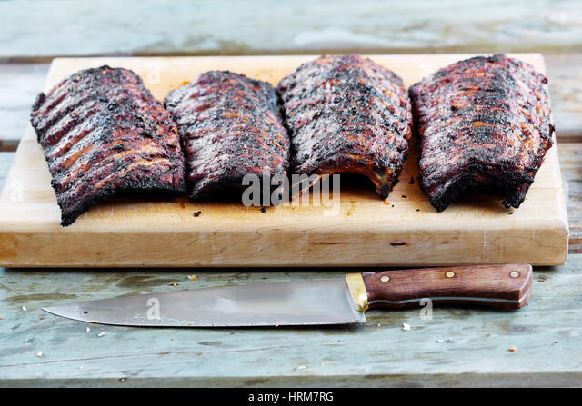 how to cook marinated ribs on the grill