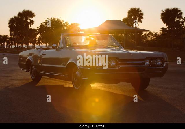 Vintage Cadillac Convertible - Stock-Bilder