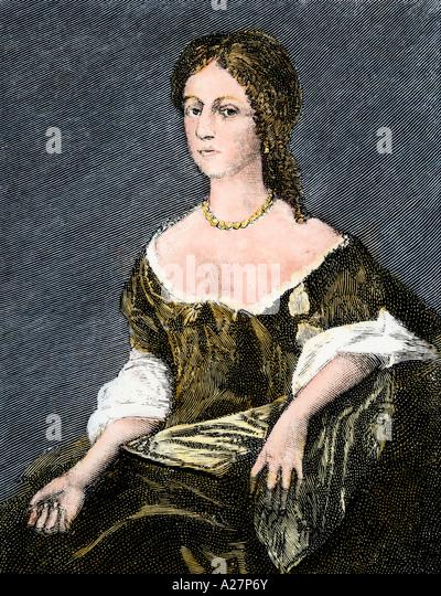 Mary Bell Washington mother of George Washington - Stock Image