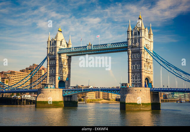 Tower bridge in London - Stock-Bilder