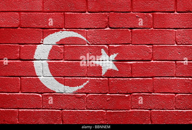 Flag of Turkey - Stock Image