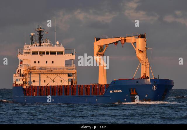 General Cargo Vessel BBC Adriatic - Stock Image