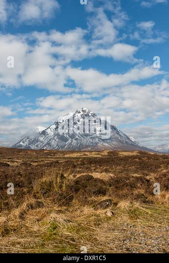 Stob Dearg the main peak of Buachaille Etive Mor - Stock-Bilder