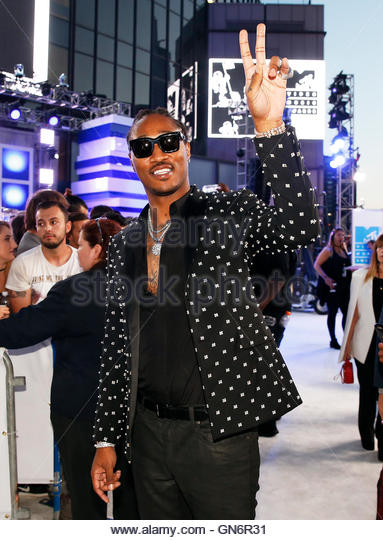 Future arrives at the 2016 MTV Video Music Awards in New York, U.S., August 28, 2016.  REUTERS/Lucas Jackson - Stock-Bilder
