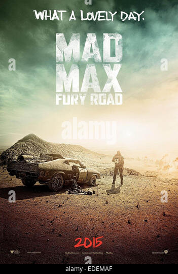 MAD MAX: FURY ROAD (2015) GEORGE MILLER (DIR) MOVIESTORE COLLECTION LTD - Stock Image