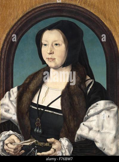 Jan Gossaert - Anna Van Bergen - Stock Image