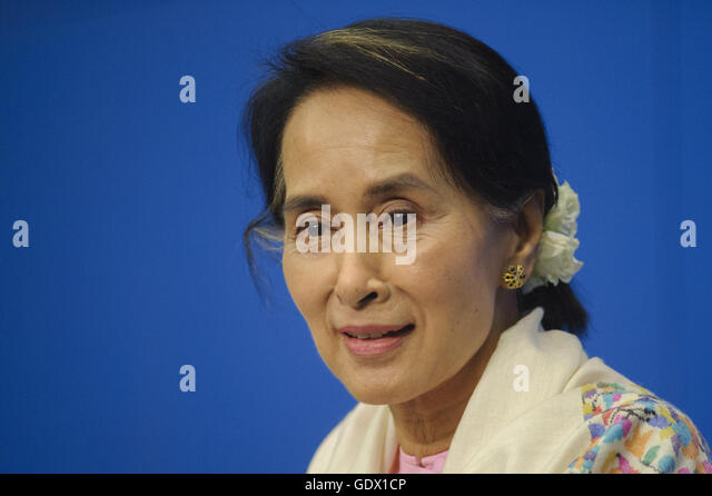 Aung San Suu Kyi - Stock-Bilder