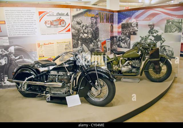 Museum of Springfield history - Stock Image