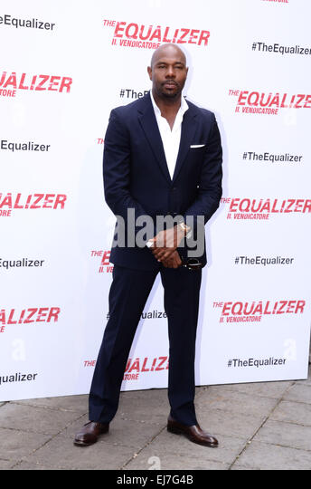 Photocall for 'The Equalizer' held at Hotel De Russie  Featuring: Antoine Fuqua Where: Rome, Italy When: - Stock-Bilder