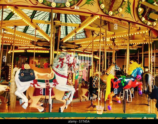 Carousel for Montana - Stock Image