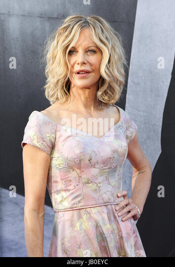 Hollywood, Ca., USA. 8th June, 2017. Meg Ryan at the American Film Institute Gala honoring Diane Keaton with the - Stock-Bilder