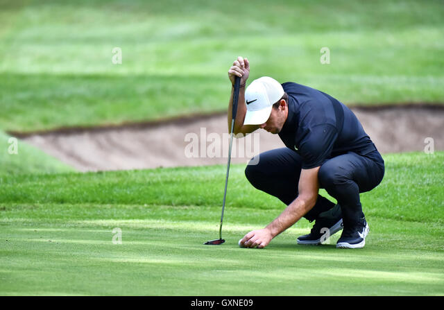 Monza, Italy. 17th September, 2016.  golf player Romain Wattel at the 73 Golf Italian Open 2016. Credit:  Federico - Stock Image