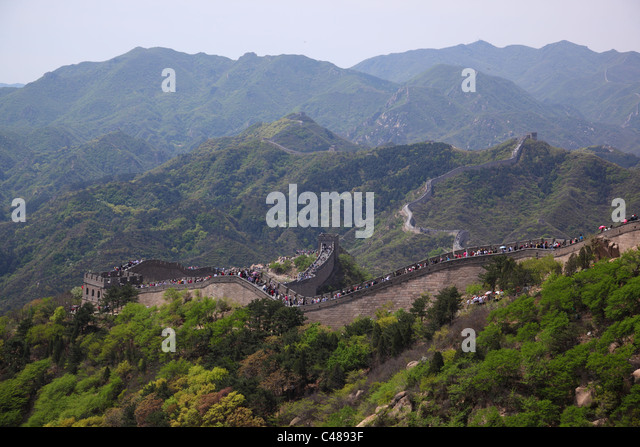 Great Wall of China, Beijing, China - Stock Image