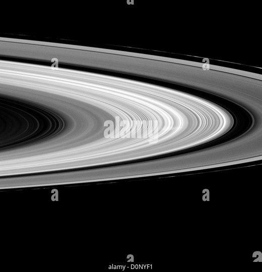 Rings of Saturn, With Spoke - Stock Image