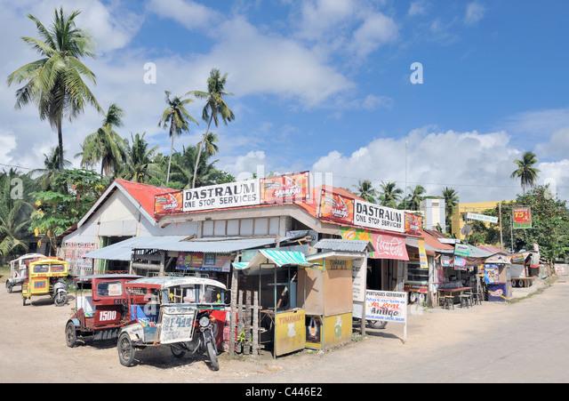 Siquijor township, Siquijor, Philippines - Stock-Bilder