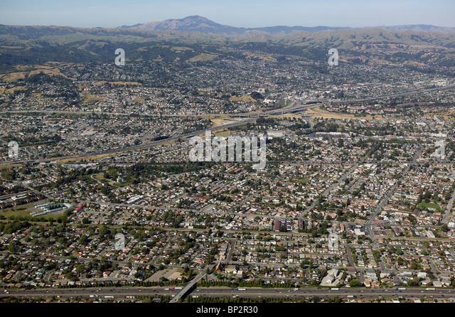 Motor home aerial view stock photos motor home aerial for Coast to coast motors hayward ca