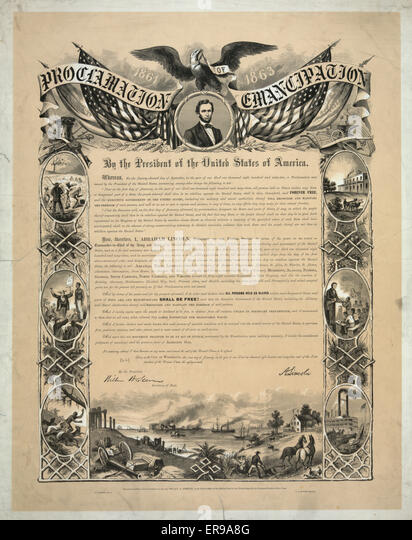 a history of emancipation proclamation in the united states of america The 13th amendment to the united states constitution, ratified just months after the end of the american civil war, abolished slavery and involuntary servitude—except as a punishment for a crime—in the entire united states.