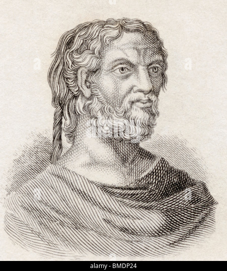 Thucydides, c. 460 BC to c. 395 BC. Greek historian. - Stock Image