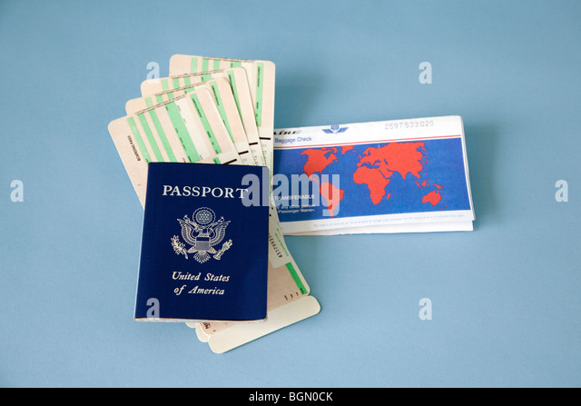 travel documents - Stock-Bilder