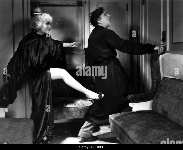 CAROLE LOMBARD & JOHN BARRYMORE TWENTIETH CENTURY (1934) - Stock Image